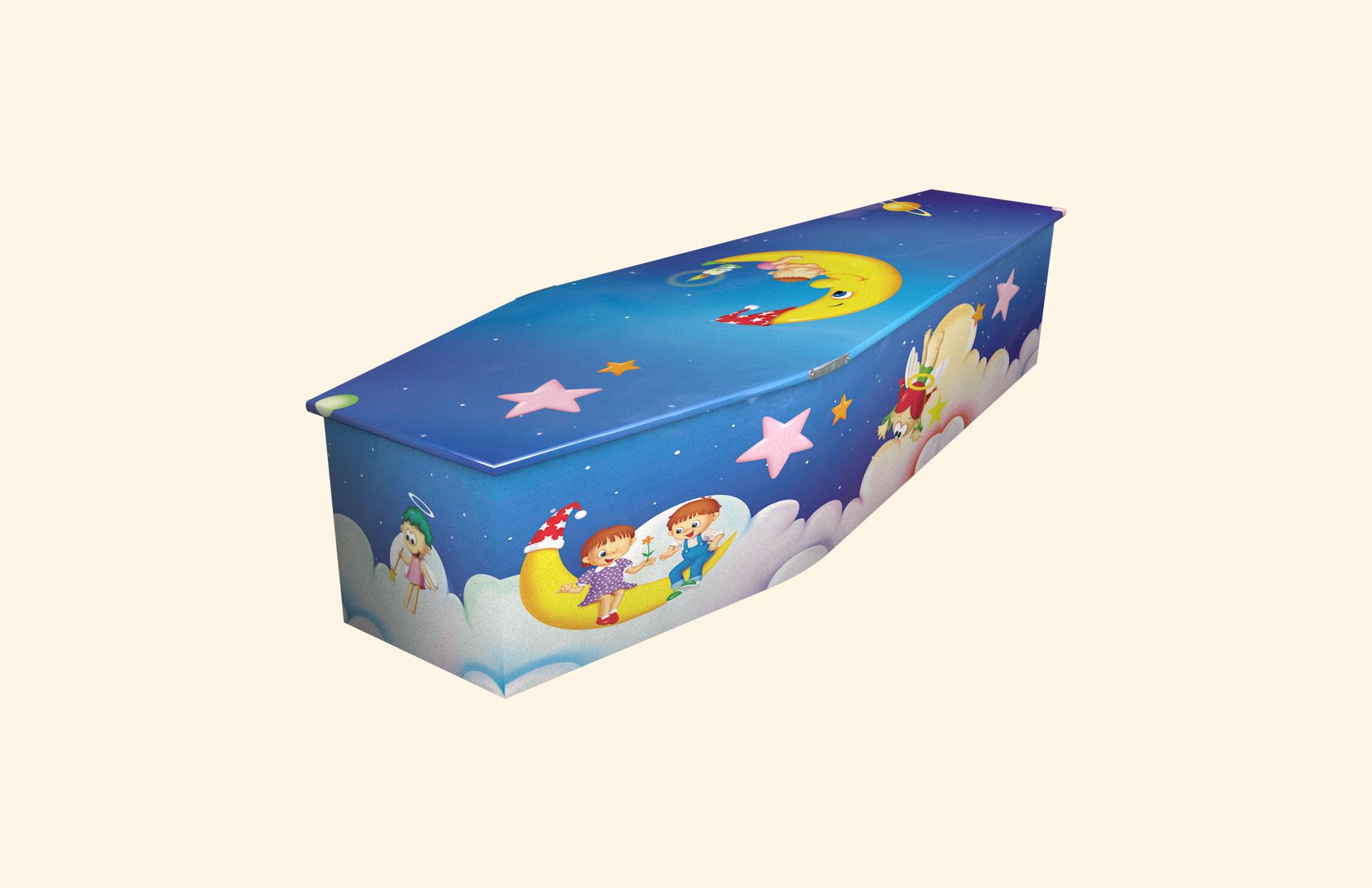 Moonbaby child coffin