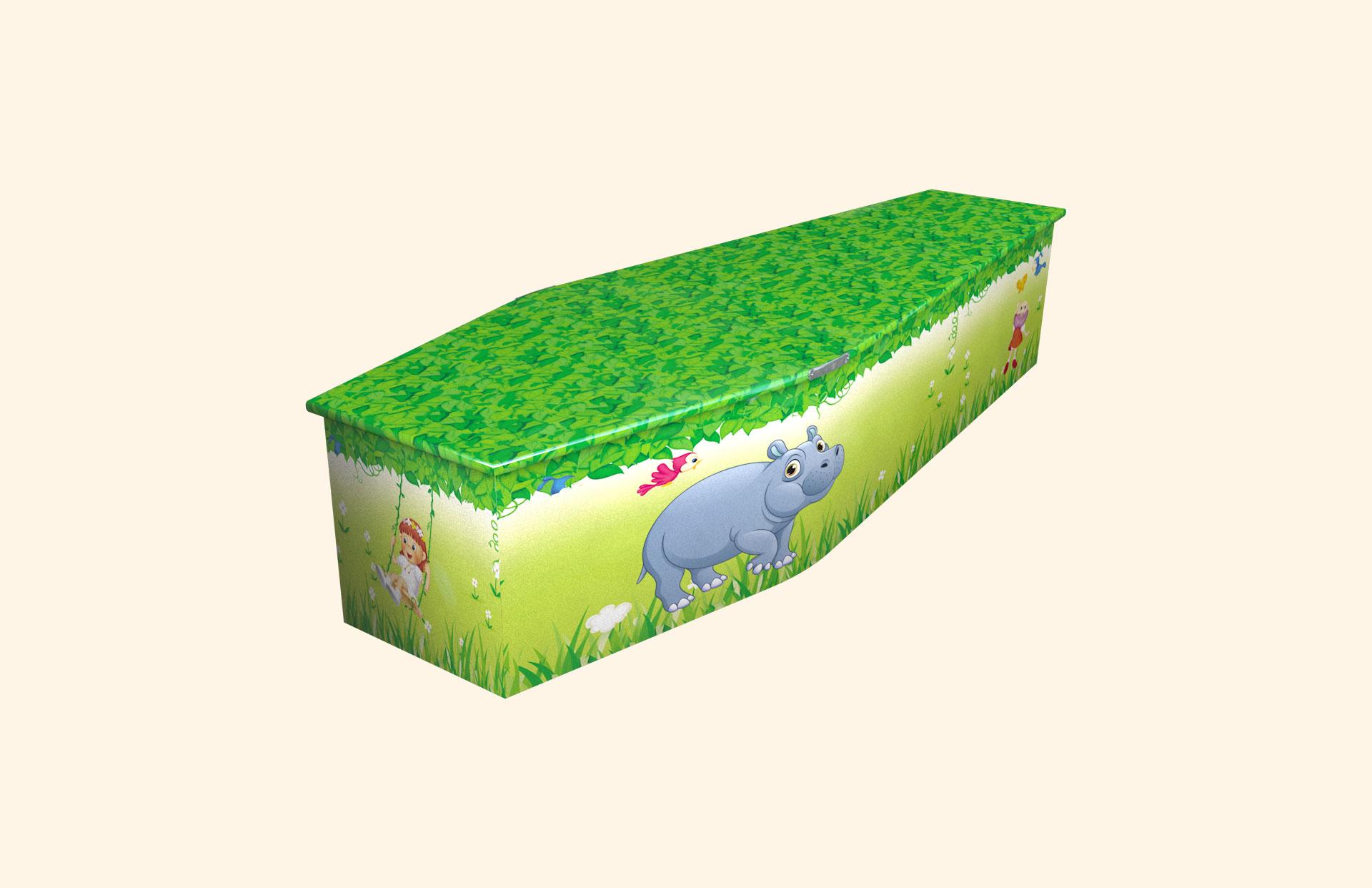 Hippo child coffin