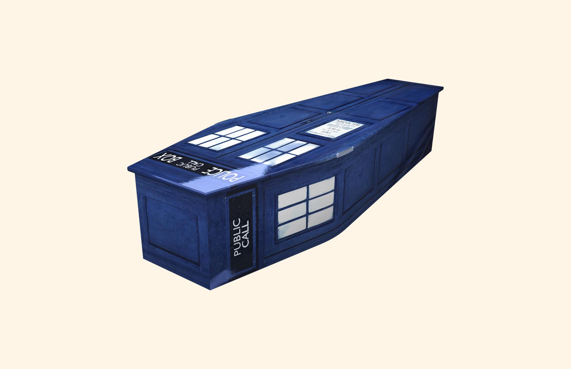 Police Box child coffin