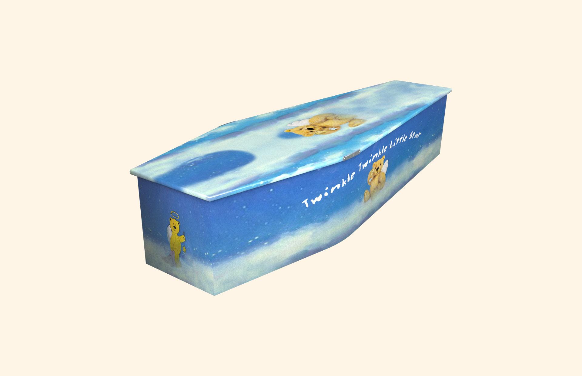 Twinkle Twinkle Little Star Blue child coffin