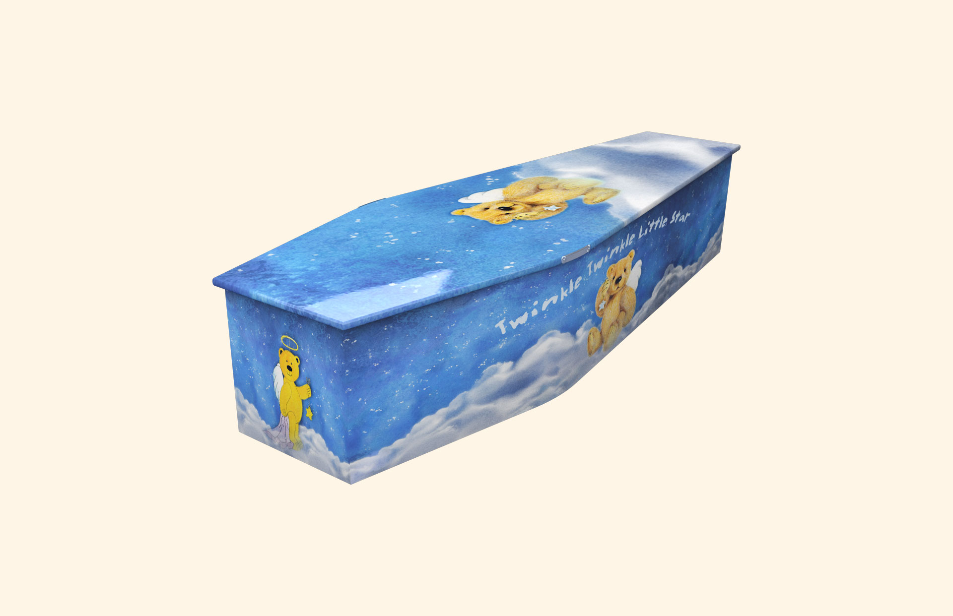 New Twinkle Twinkle Little Star Blue child coffin