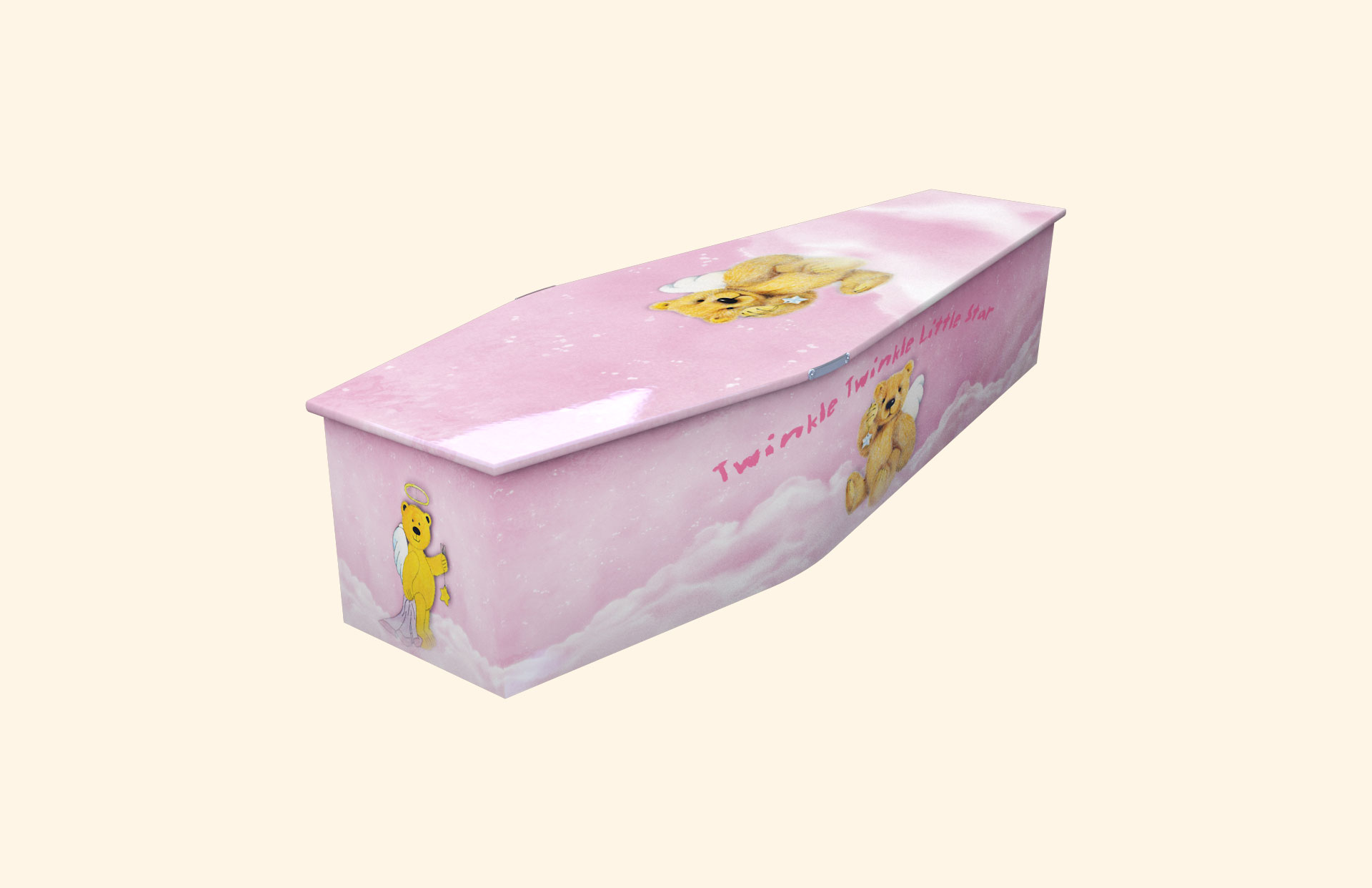 New Twinkle Twinkle Little Star Pink child coffin
