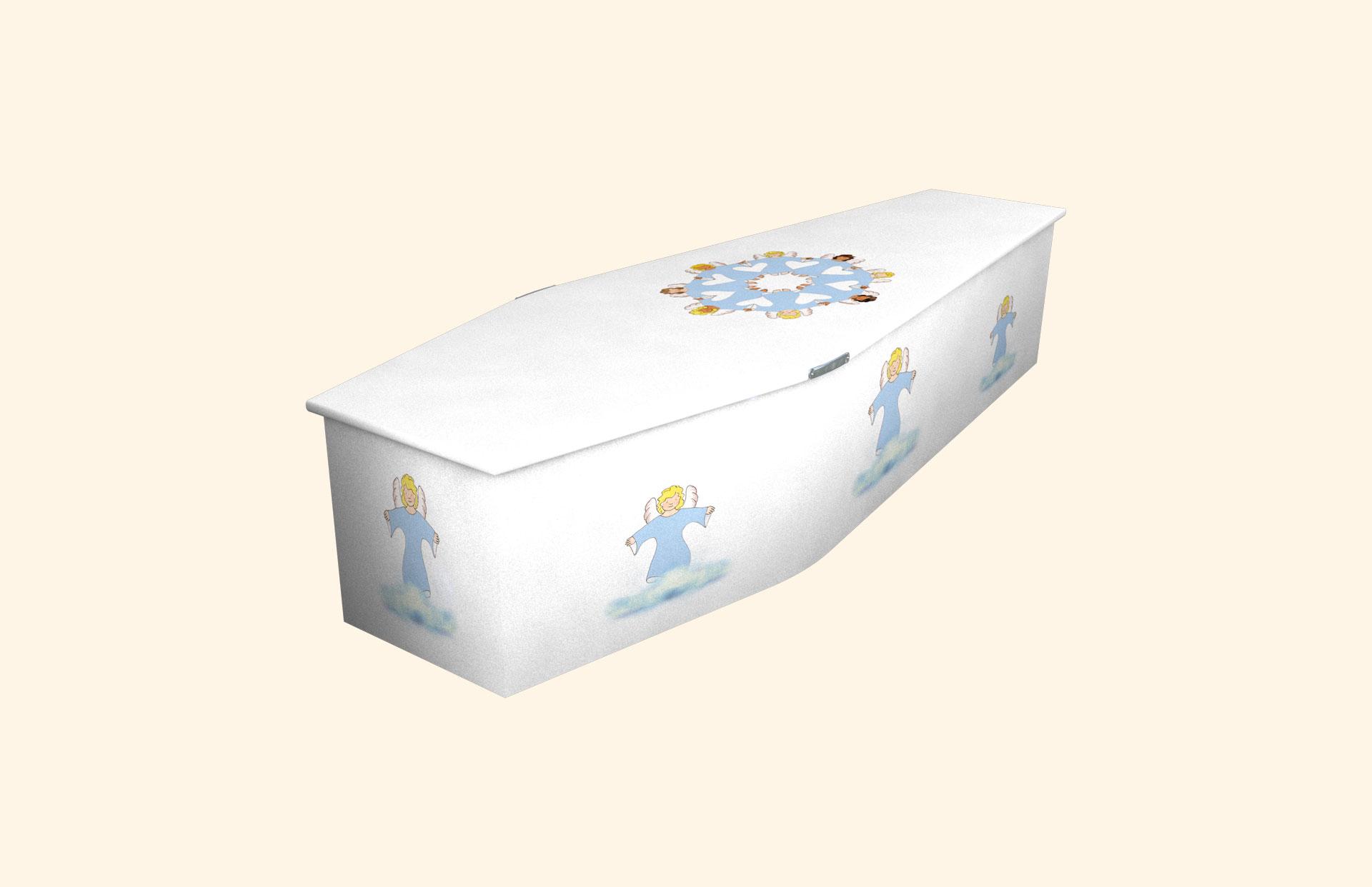 Angel Friends white child coffin