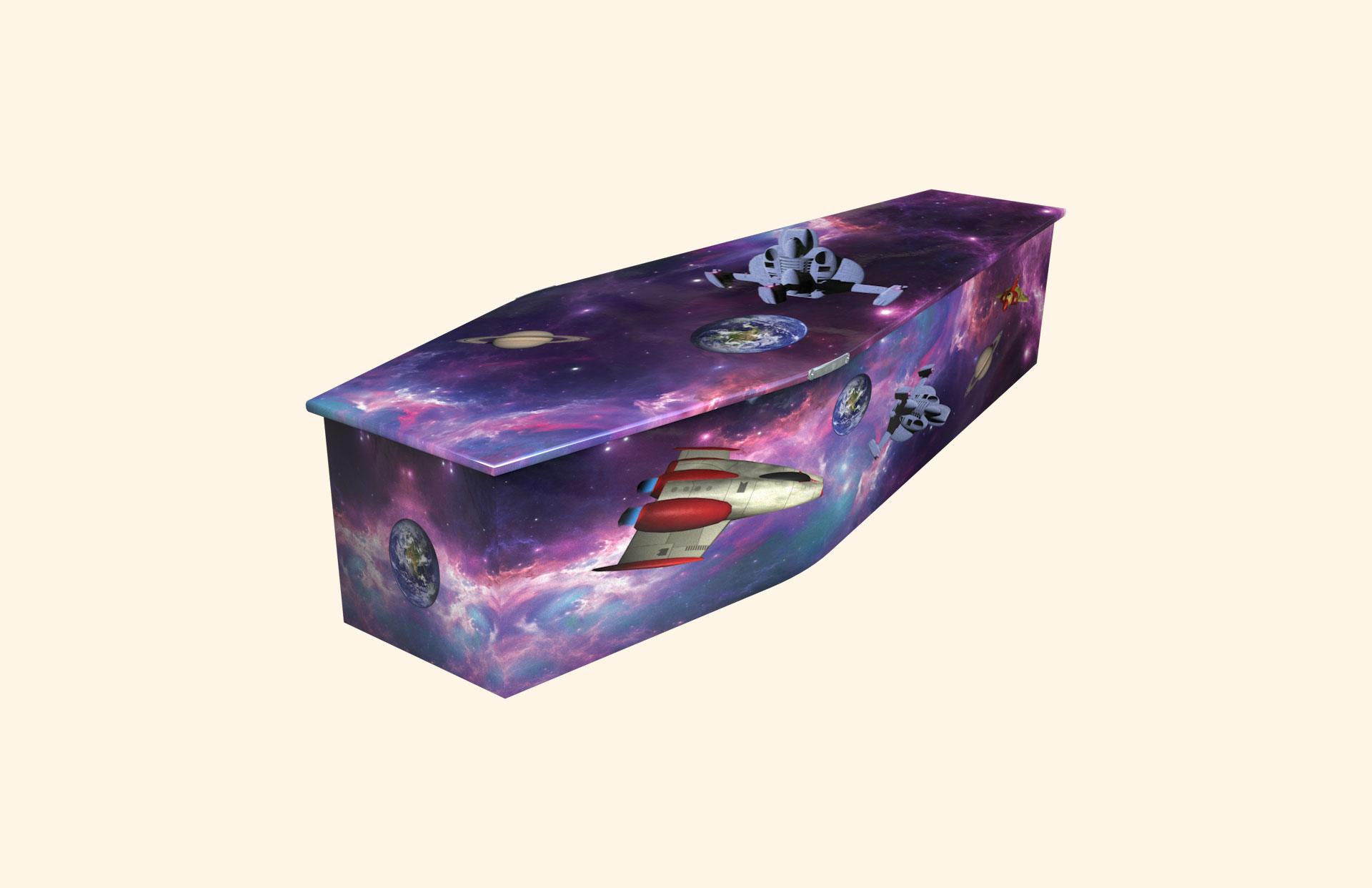 Final Frontier child coffin