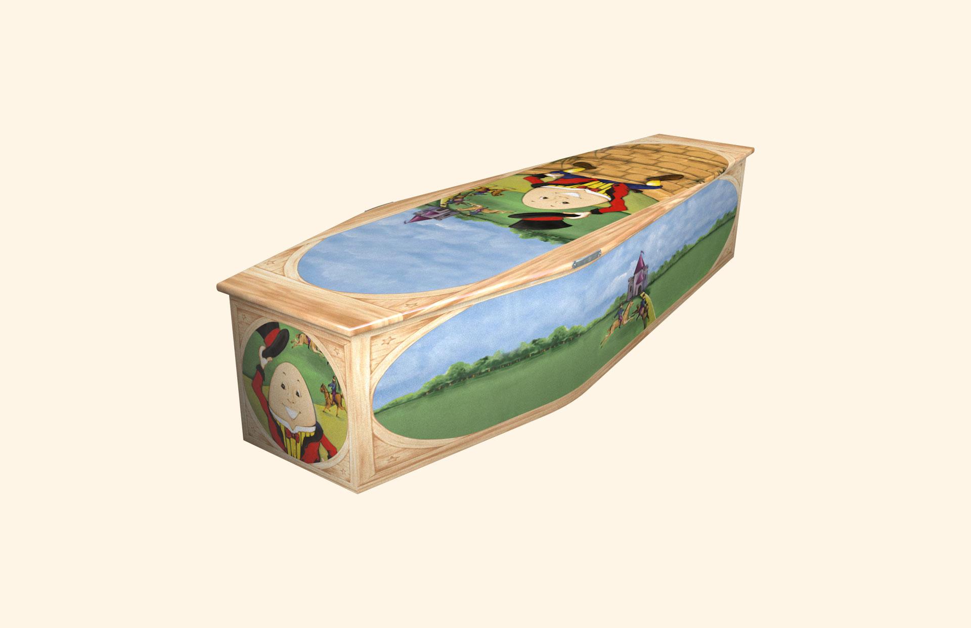 Humpty Dumpty child coffin
