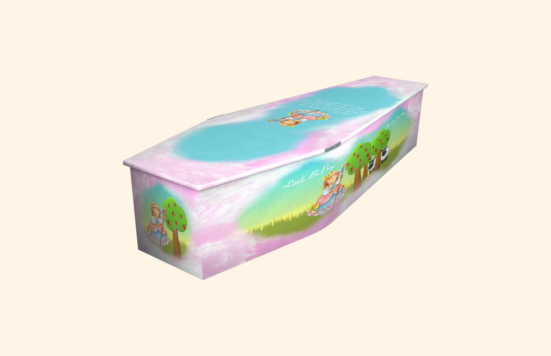 Little Bo Peep child coffin