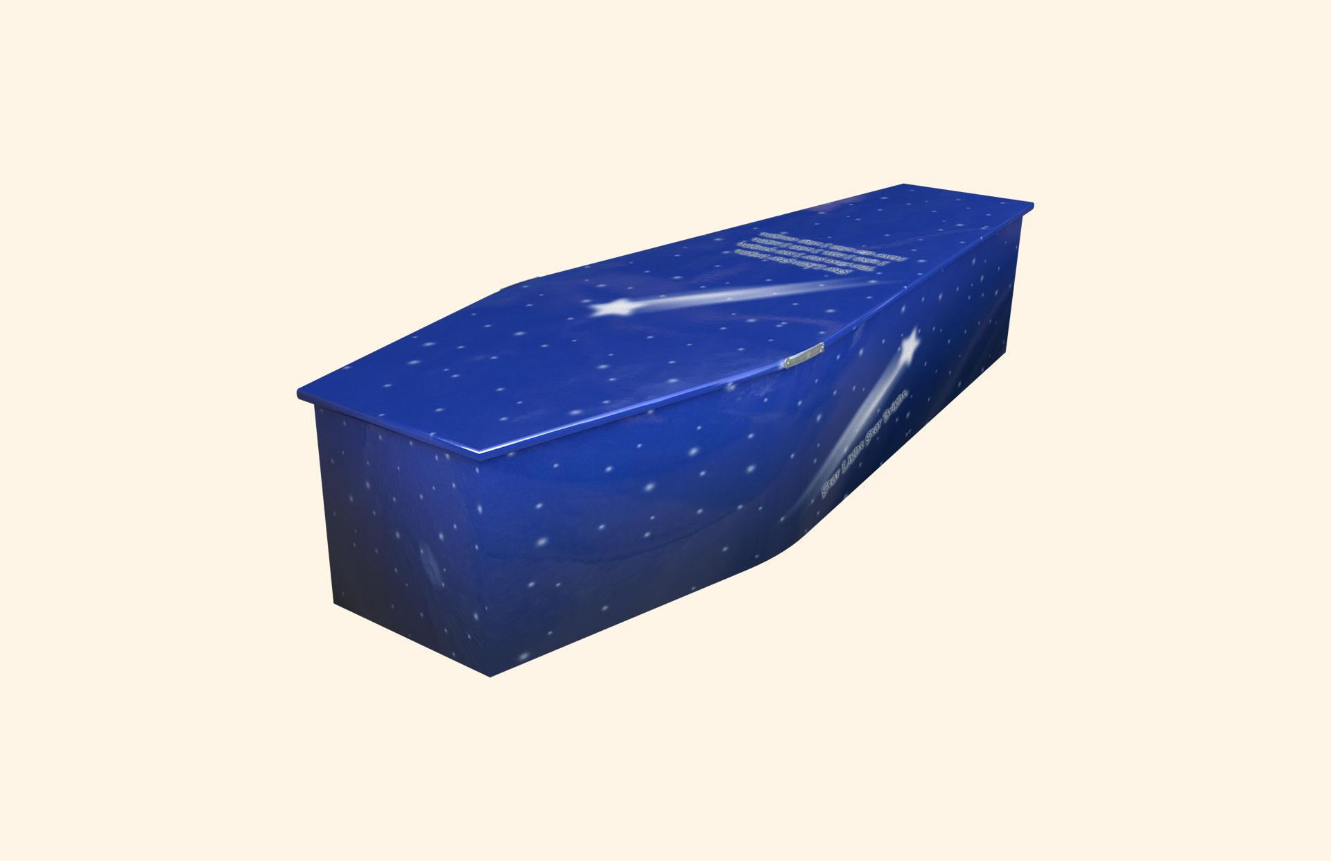 Star Light Star Bright child coffin