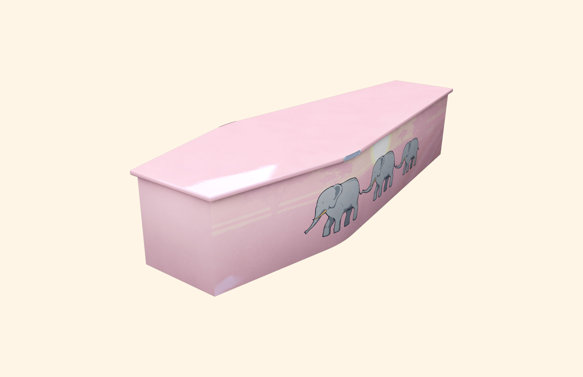 Elephant Trail child coffin