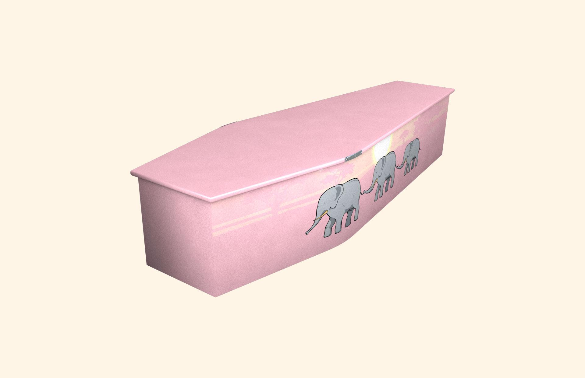 Elephant Trail child coffin