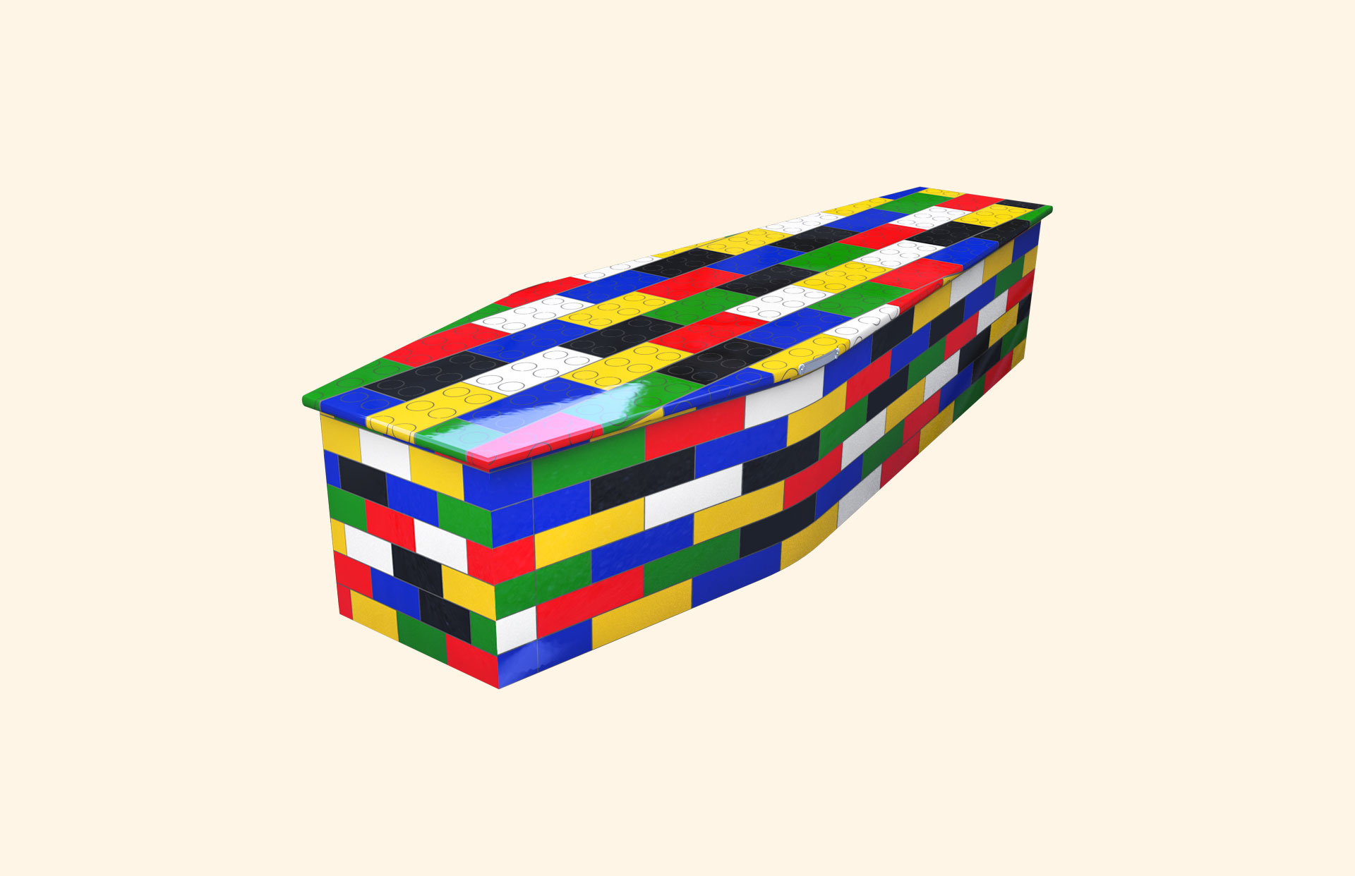 Building Blocks child coffin