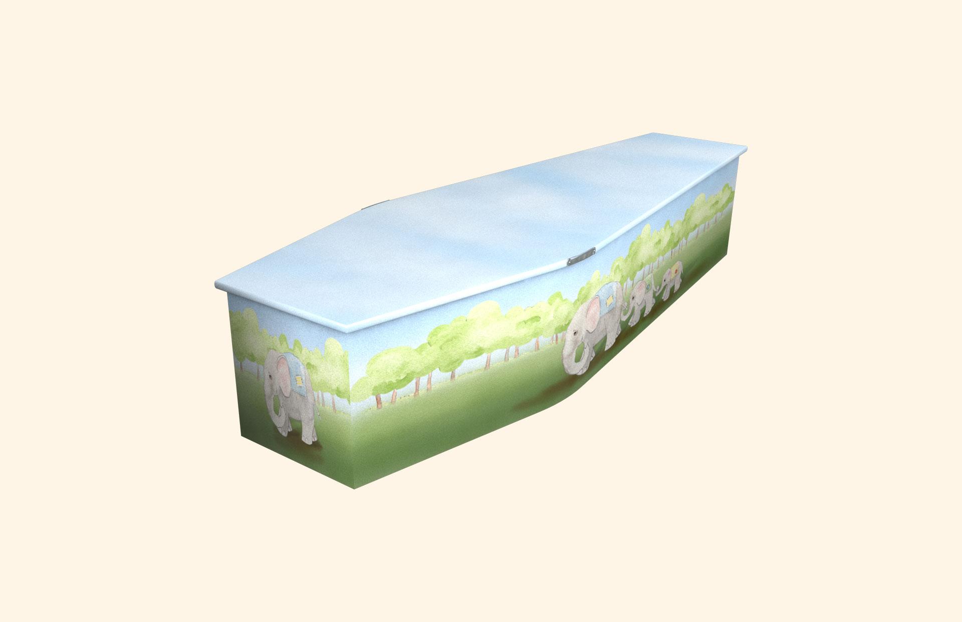 Heffalumps child coffin