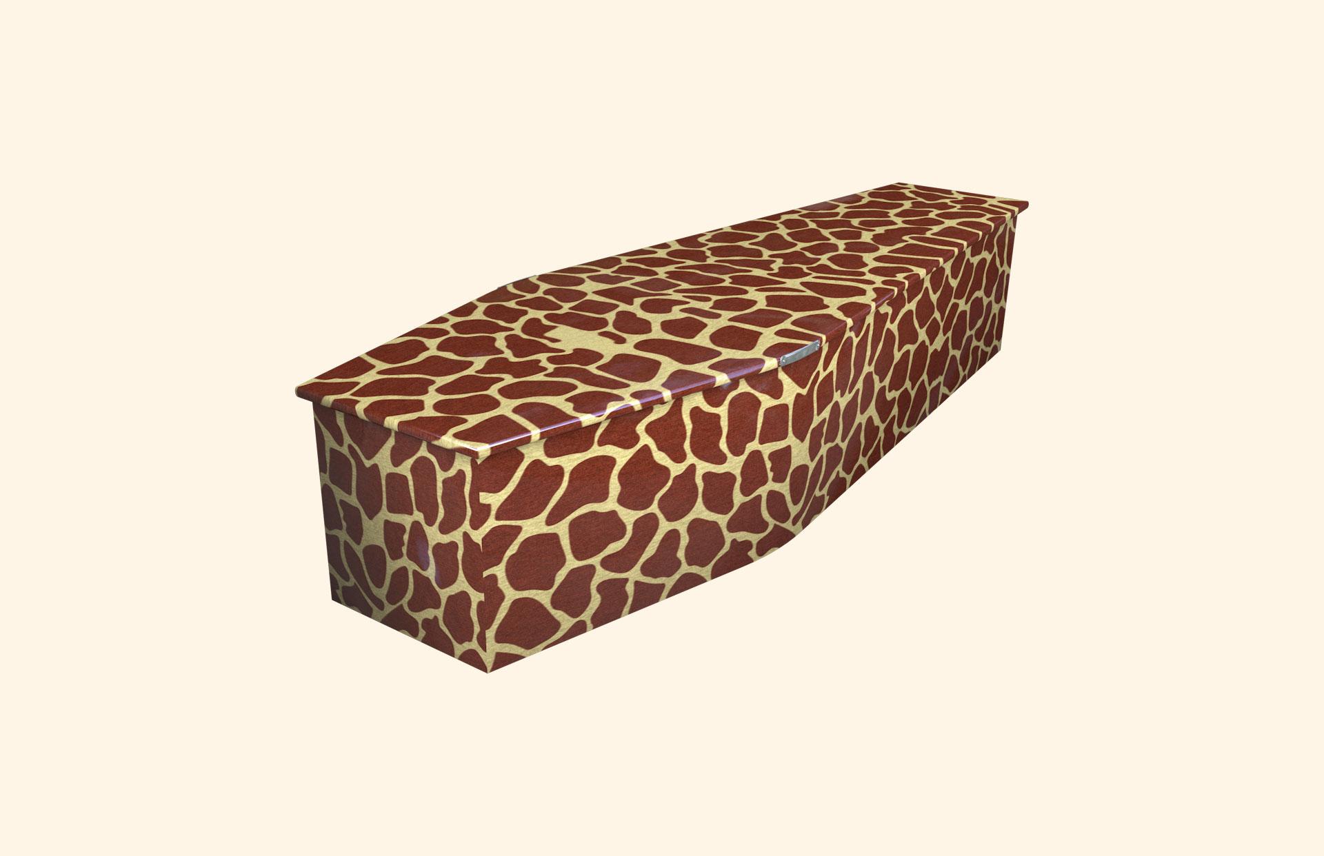 Giraffe child coffin