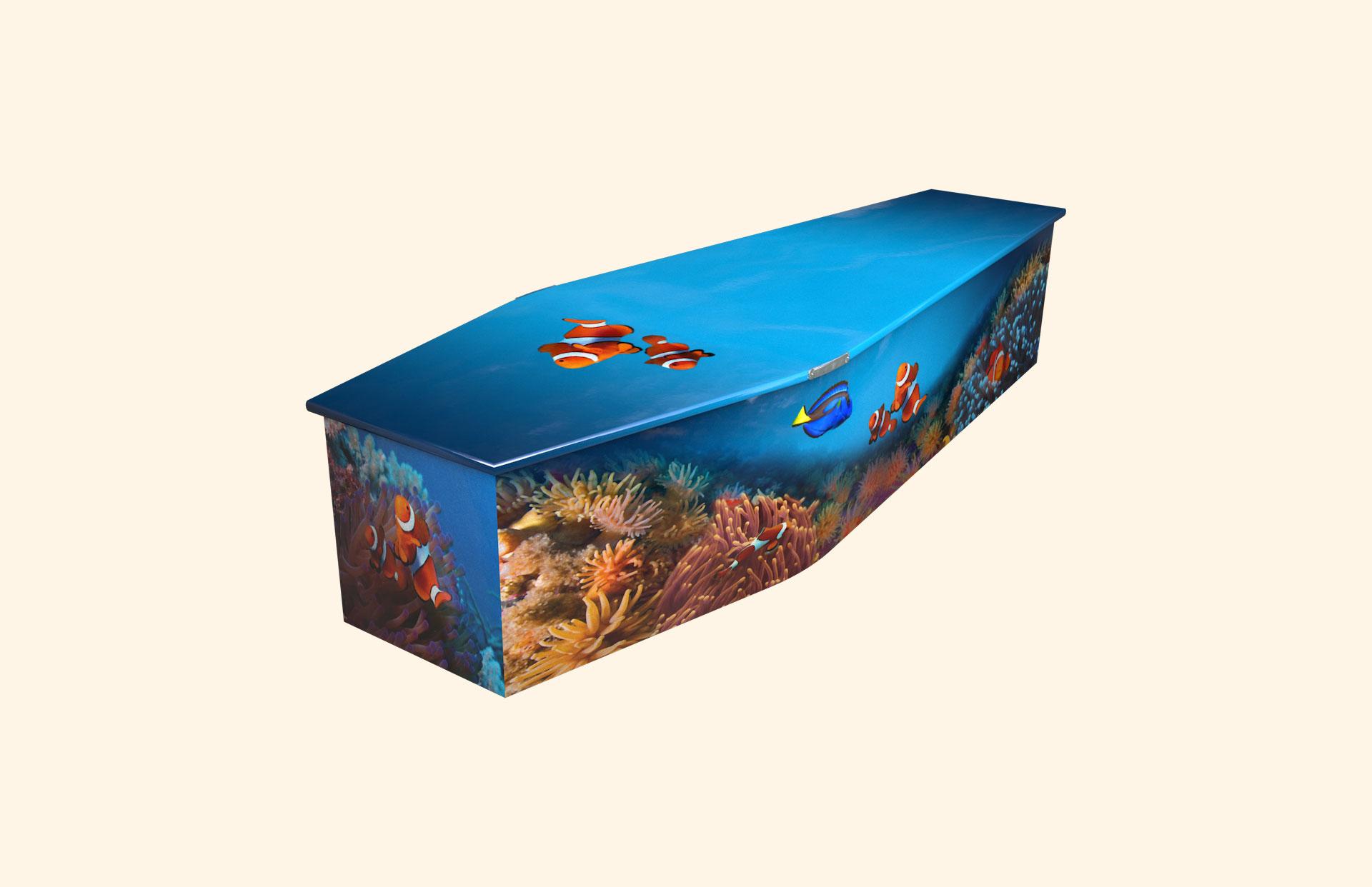 Under the Sea child coffin