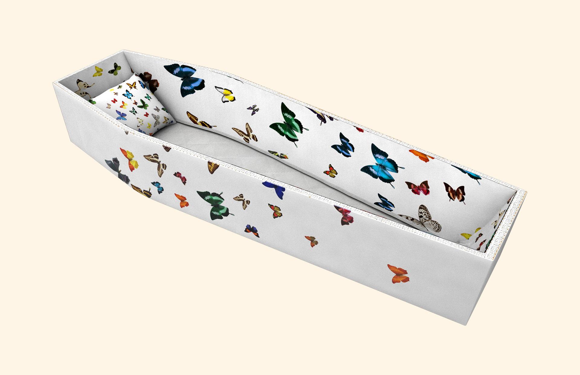 Fluttering Beauty side lining 3D
