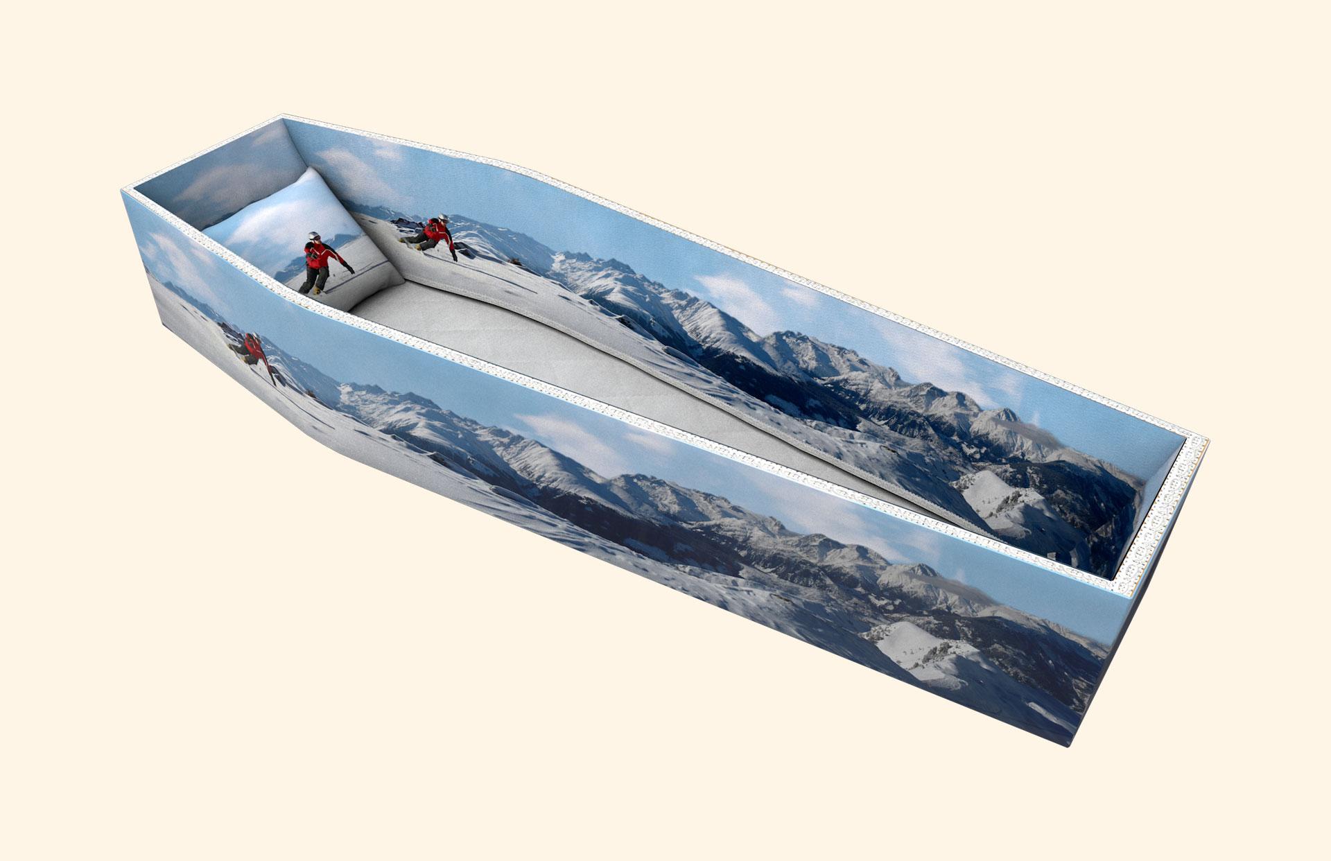 Skiing side lining