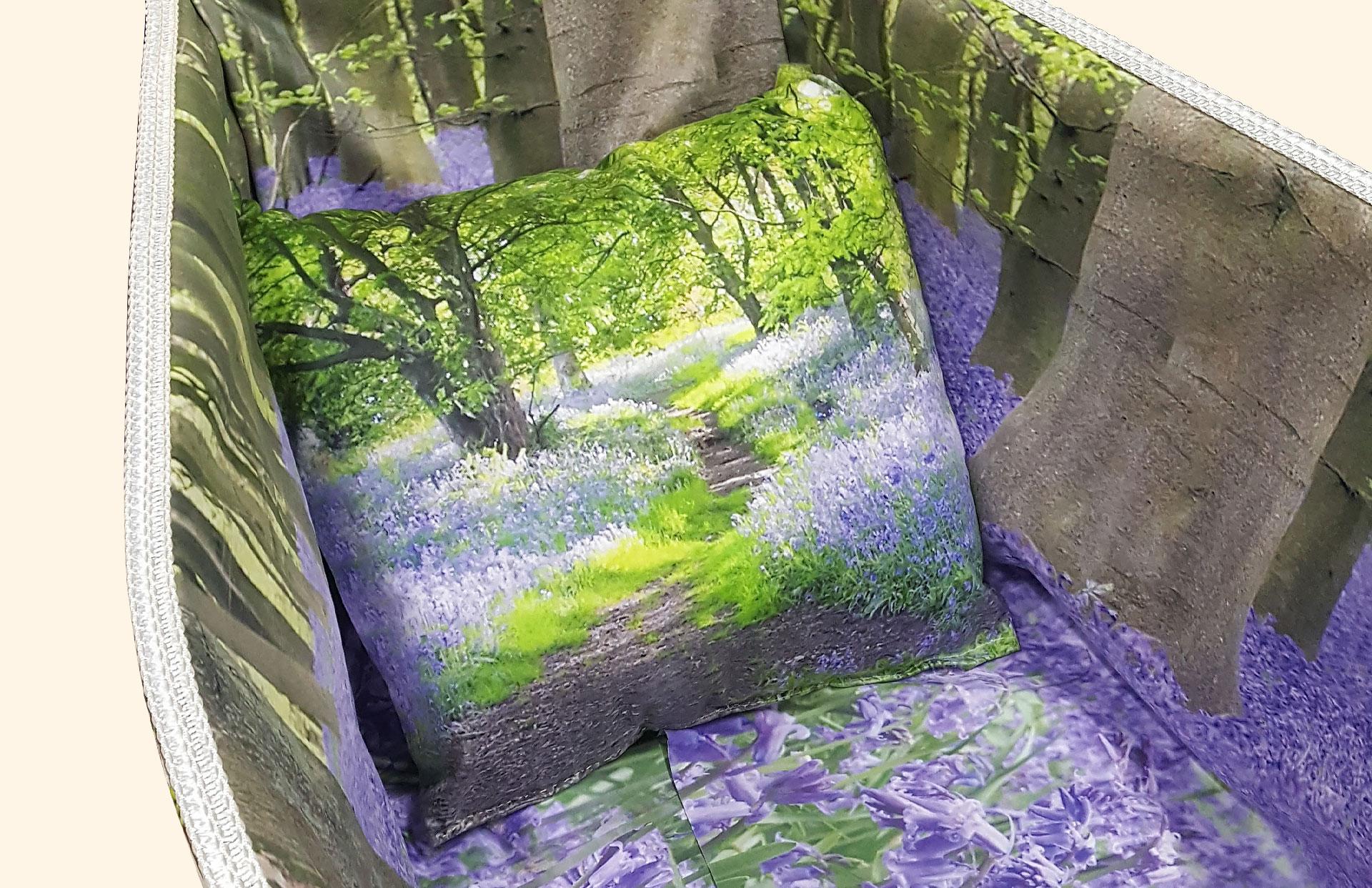 Bluebell Blanket full interior in detail