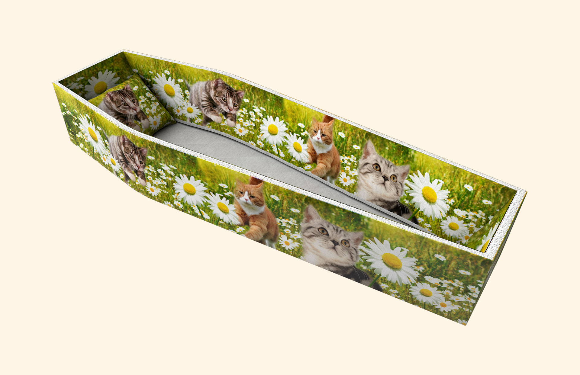 Purrfect Daisy side lining