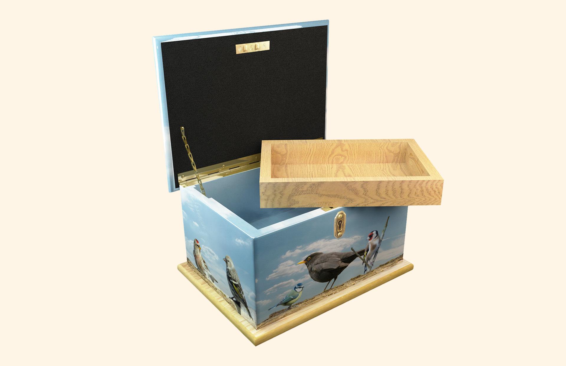 Full Wrap Memory Box tray