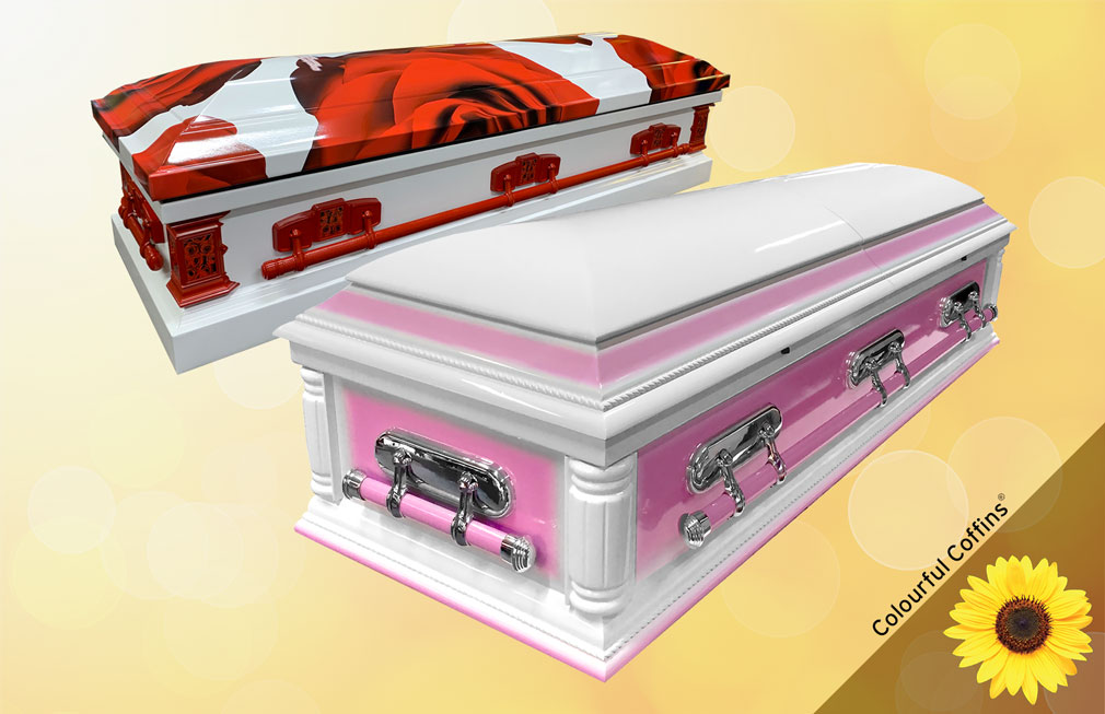Adult American Casket Designs
